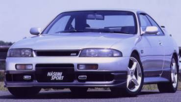 SKYLINE COUPE R33(early model)